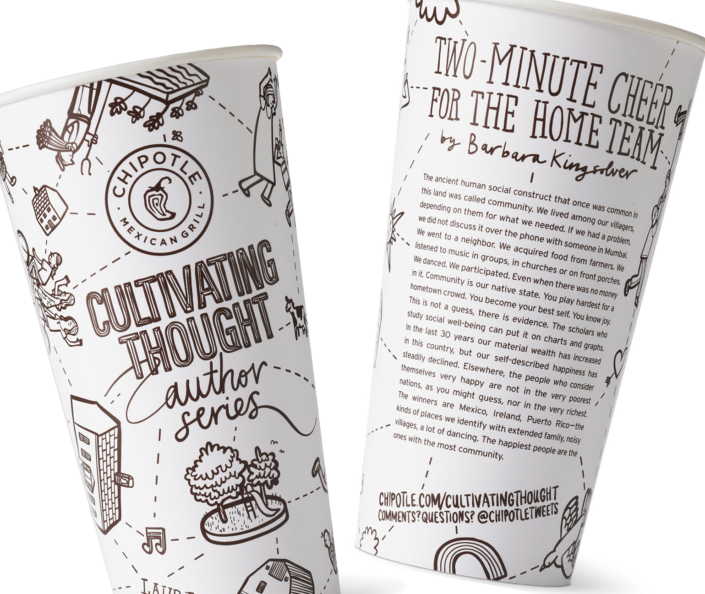 Chipotle Cup Cultivating Thought Cup Featured