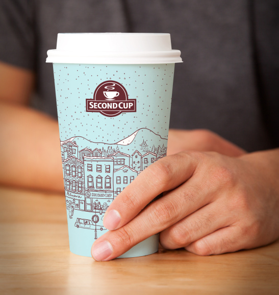 Second Cup Paper Cup