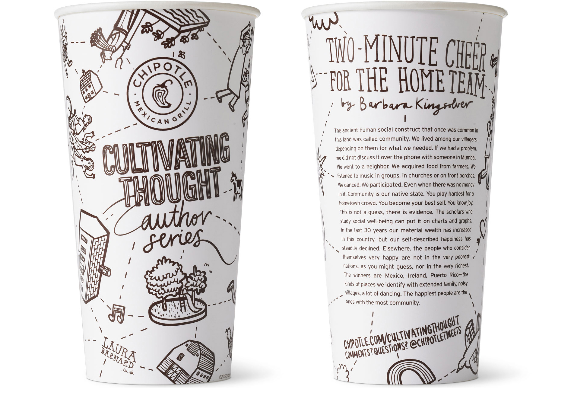 Chipotle Cup Cultivating Thought Cup 1