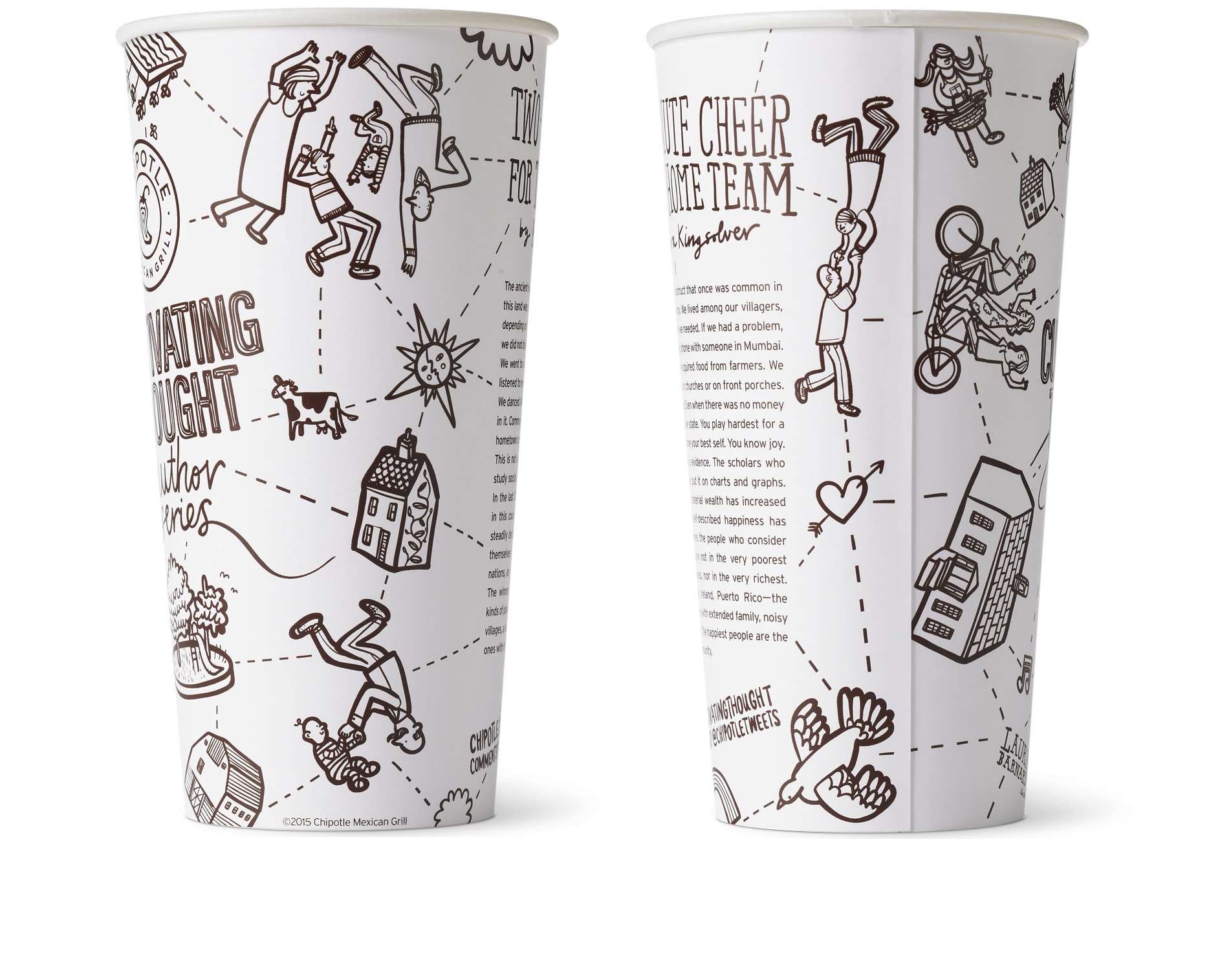 Chipotle Cup Cultivating Thought Cup 2