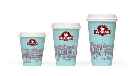 Second Cup Paper Cups