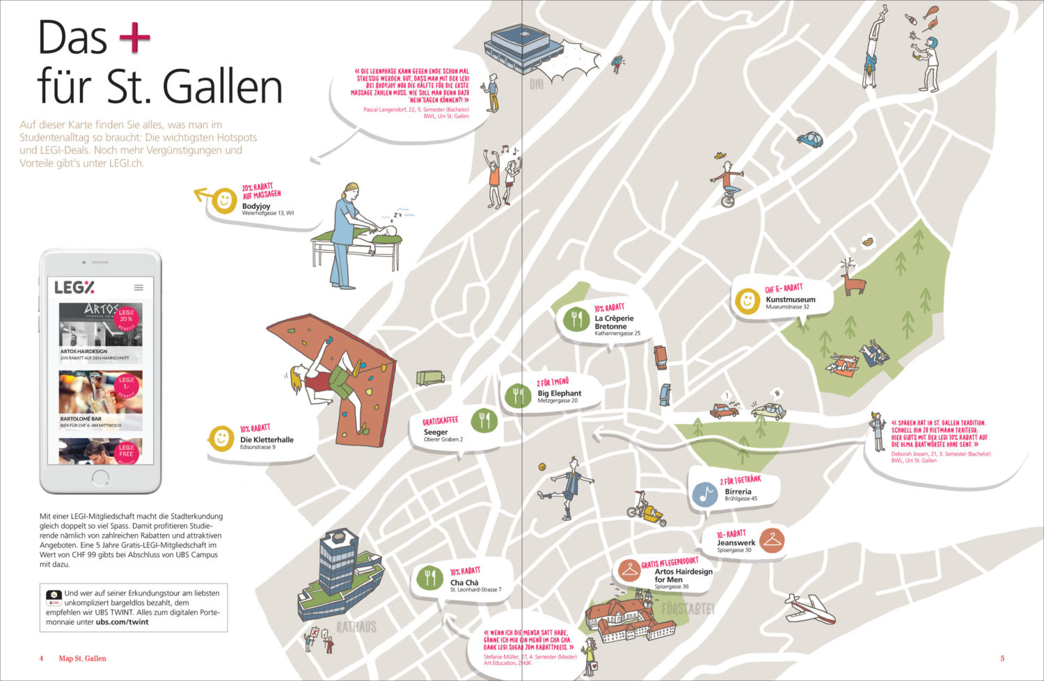 UBS Campus St Gallen Map