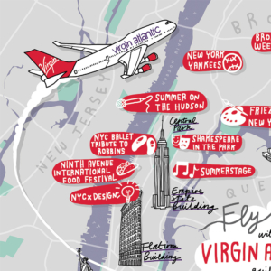 Virgin Atlantic Map NY Crop