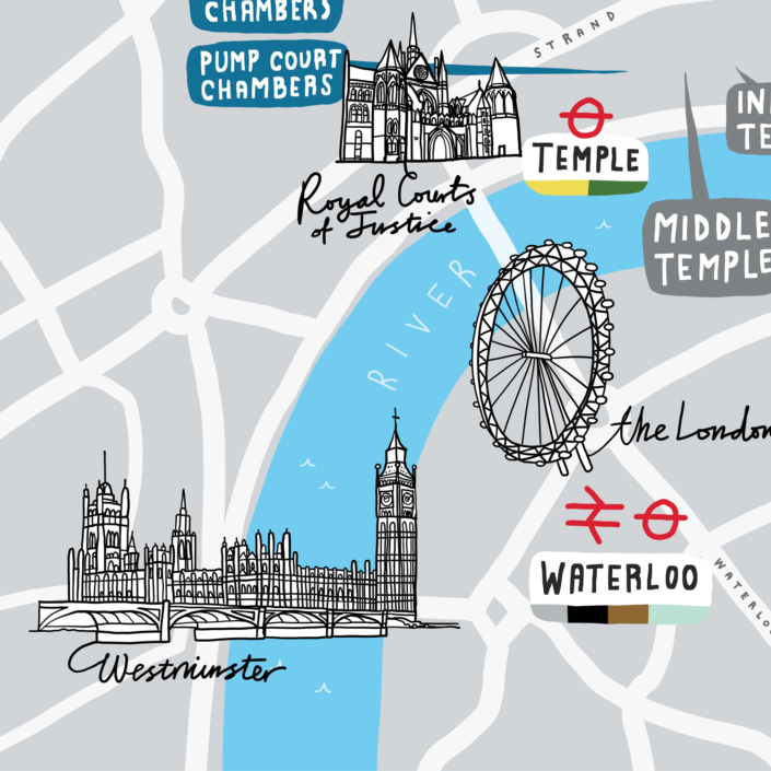 The City Law School Prospectus Map Westminster